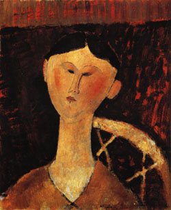 Amedeo Modigliani Portrait of Mrs. Hastings