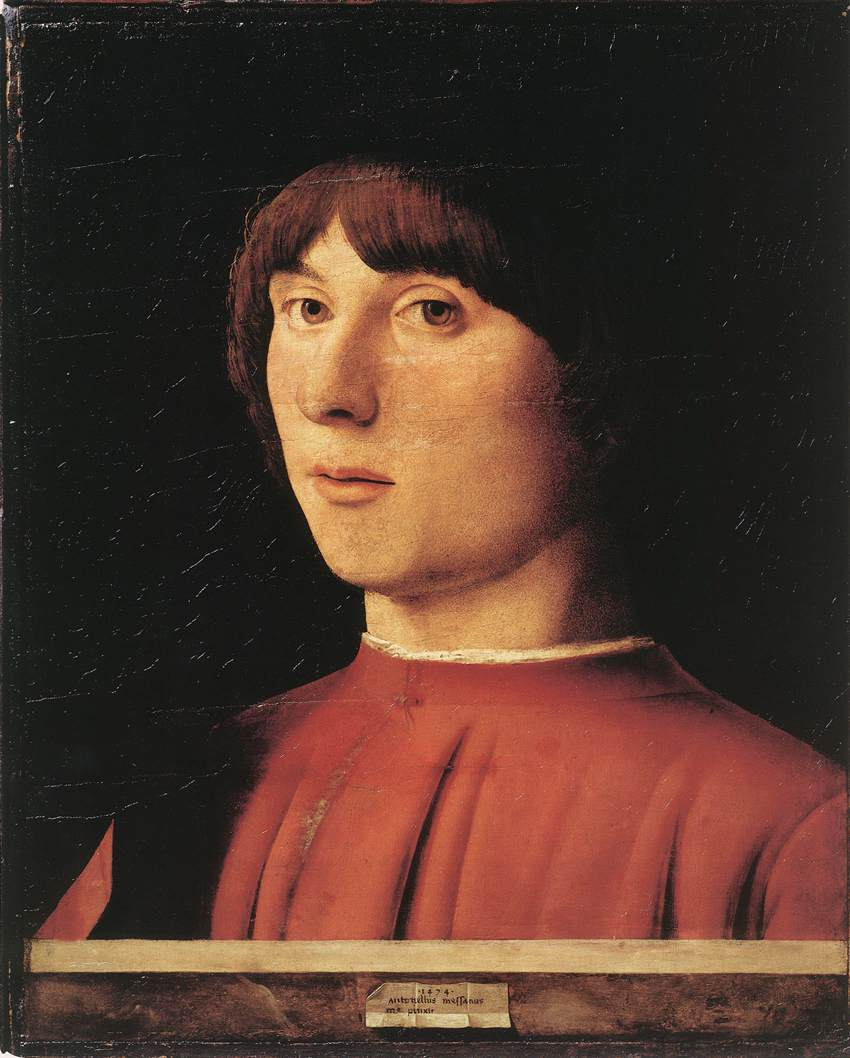 Antonello da Messina Portrait of a Man hh