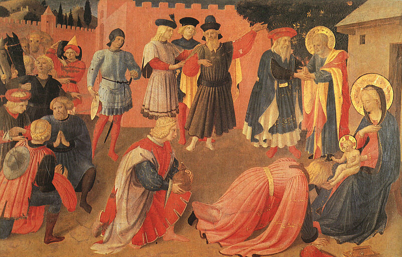 Fra Angelico Adoration of the Magi