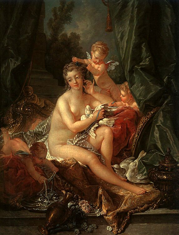 Francois Boucher The Toilet of Venus