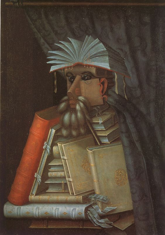 Giuseppe Arcimboldo The Librarian