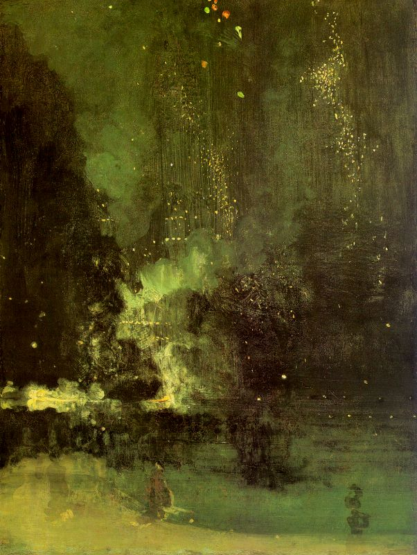 James Abbott McNeil Whistler Nocturne in Black and Gold