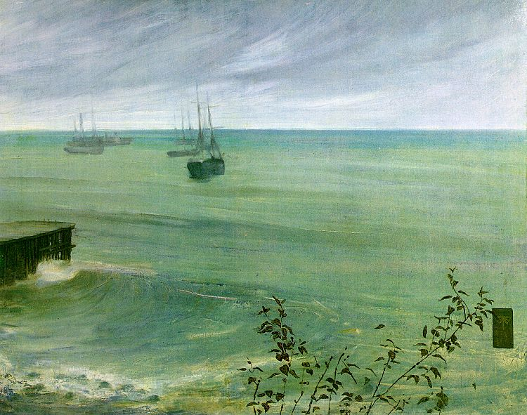 James Abbott McNeil Whistler Symphony in Grey and Green