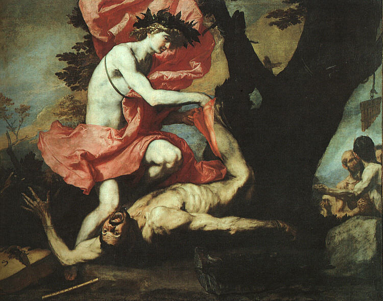 Jusepe de Ribera The Flaying of Marsyas