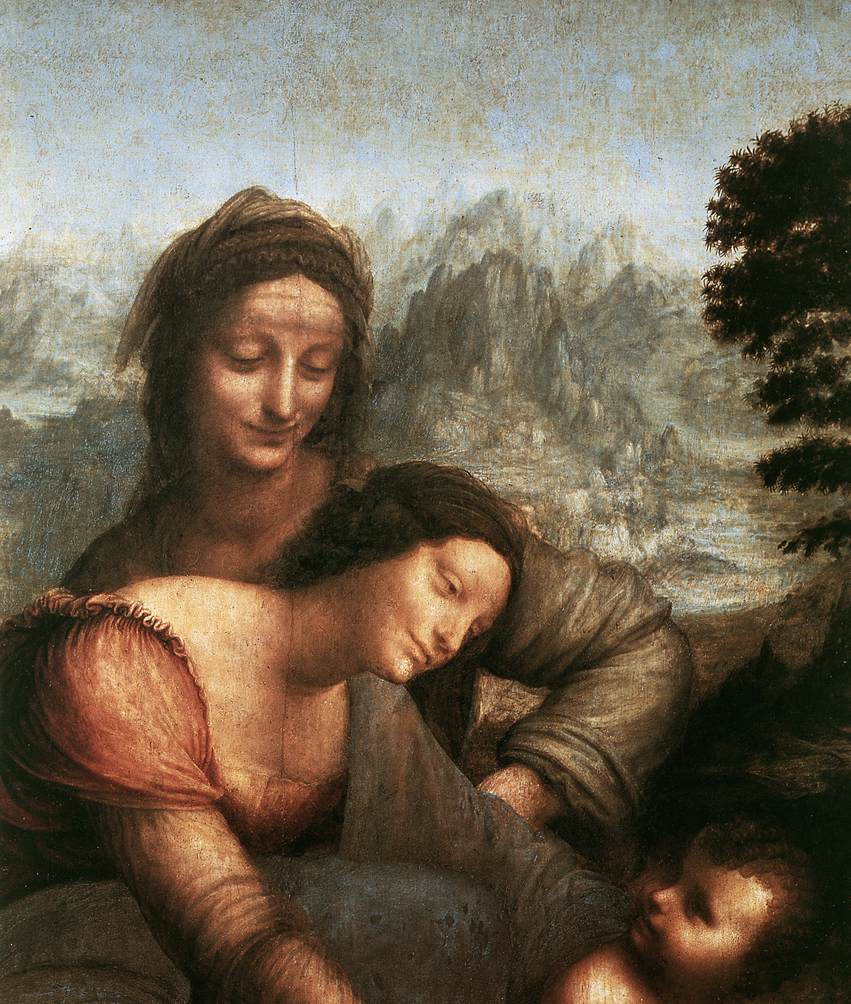 LEONARDO da Vinci Madonna with the Yarnwinder  tw