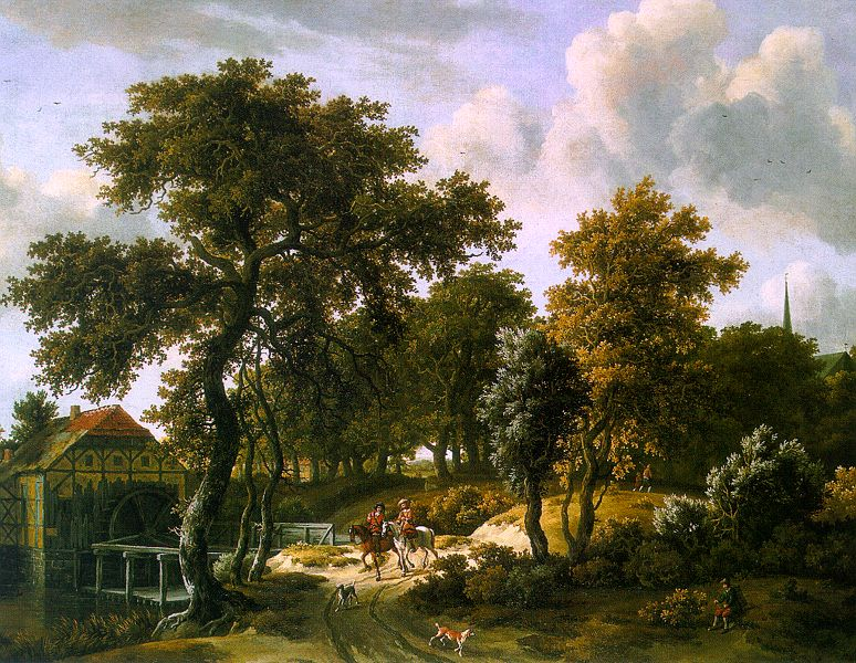 Meindert Hobbema The Travelers