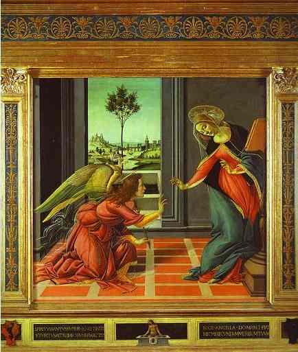 Sandro Botticelli Cestello Annunciation