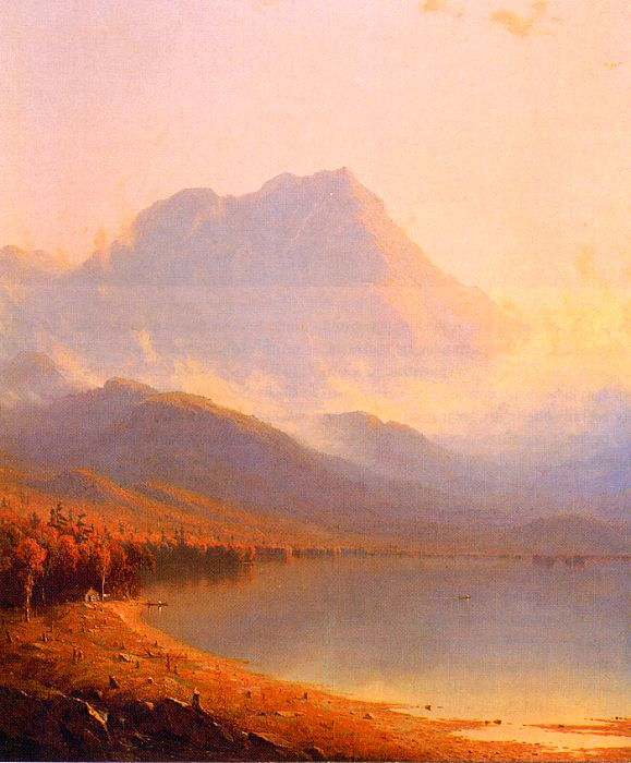 Sanford Robinson Gifford Morning in the Adirondacks