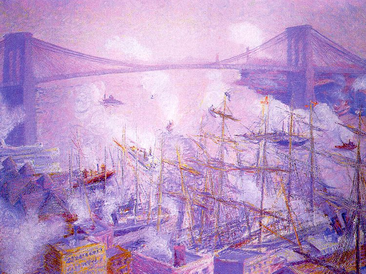 Theodore Butler Brooklyn Bridge