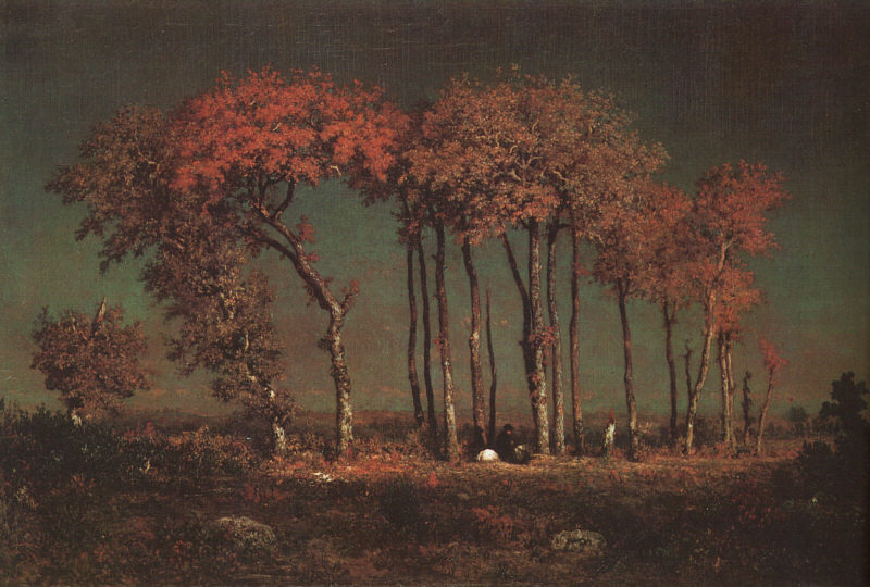 Theodore Rousseau Under the Birches