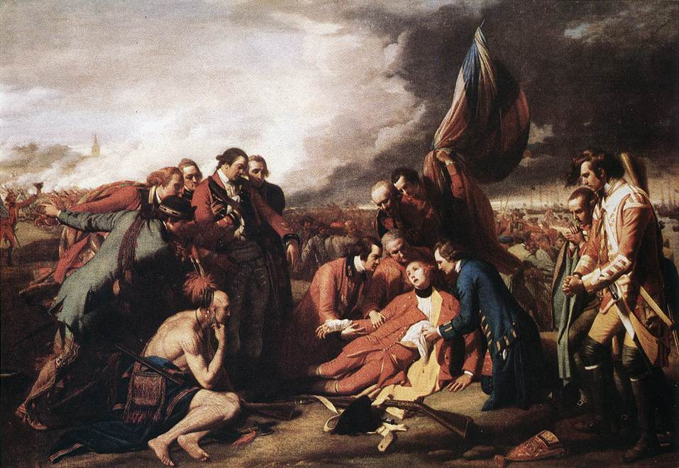 WEST, Benjamin The Death of General Wolfe