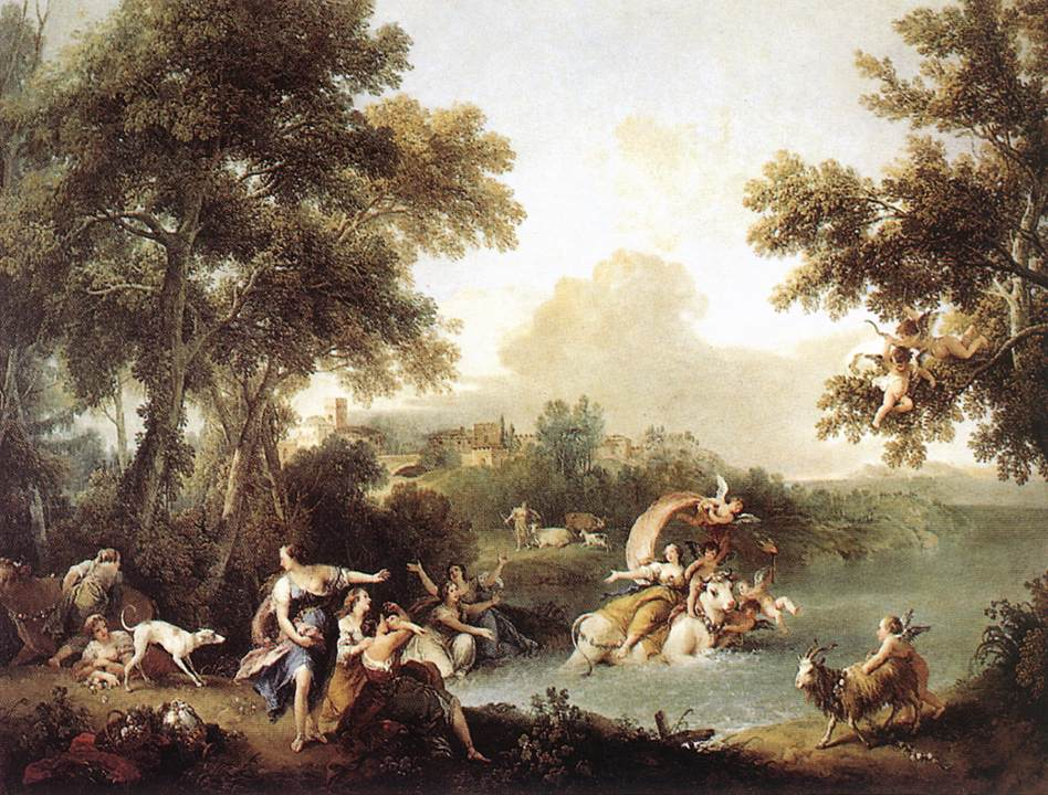ZUCCARELLI  Francesco The Rape of Europa