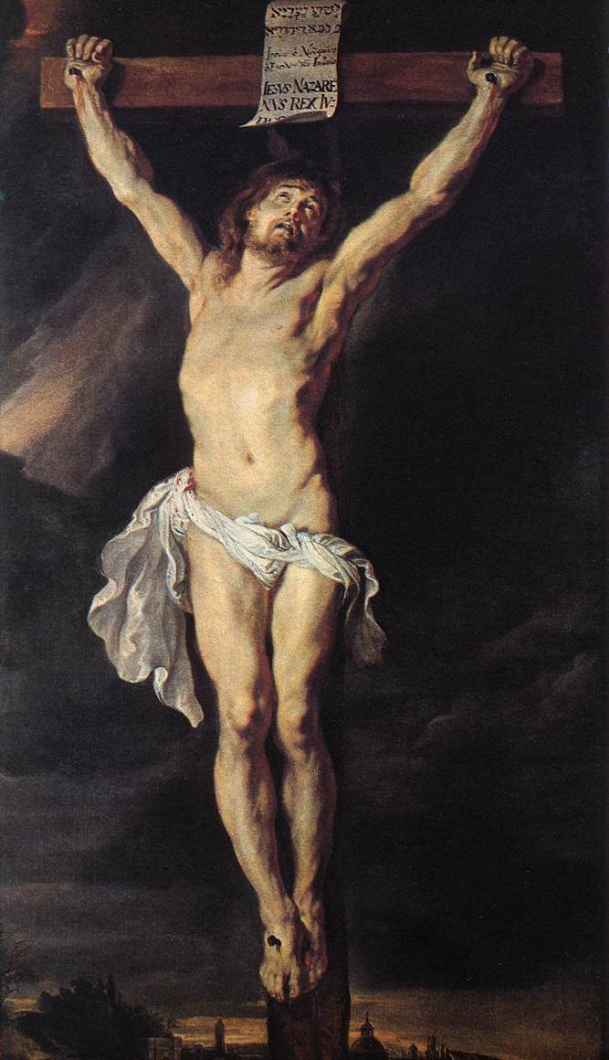 RUBENS, Pieter Pauwel The Crucified Christ af