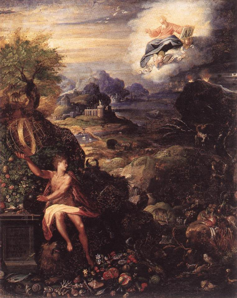 ZUCCHI, Jacopo Allegory of the Creation nw3r