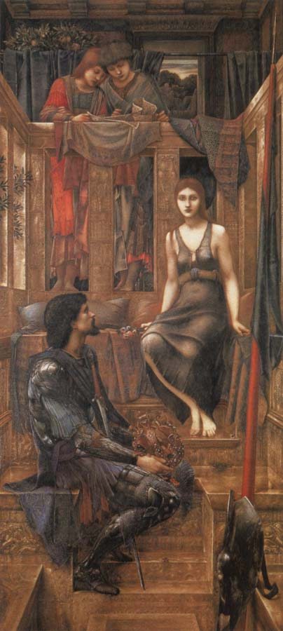 Burne-Jones, Sir Edward Coley King Cophetua and the Beggat-Maid