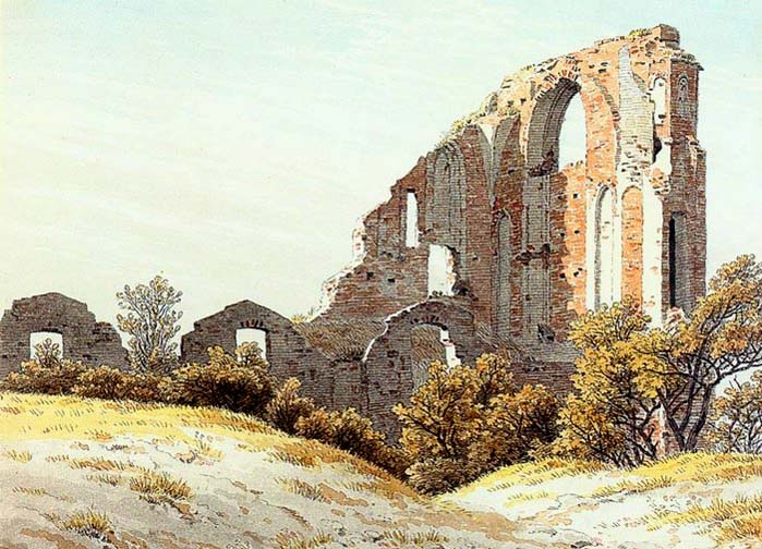 Caspar David Friedrich The Ruins of Eldena