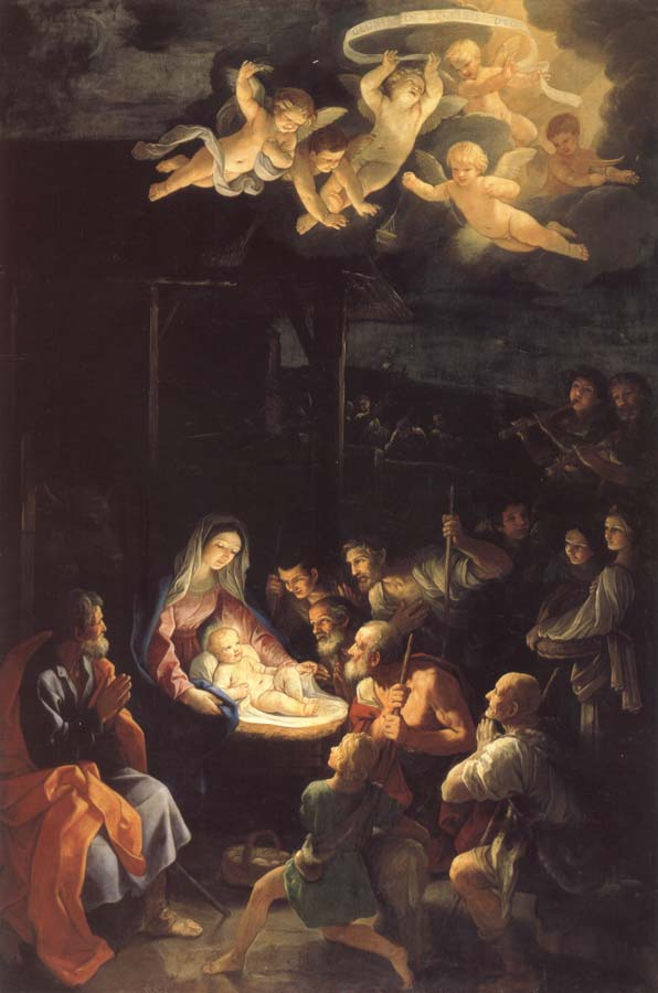 Guido Reni The Adoration of the Shepherds