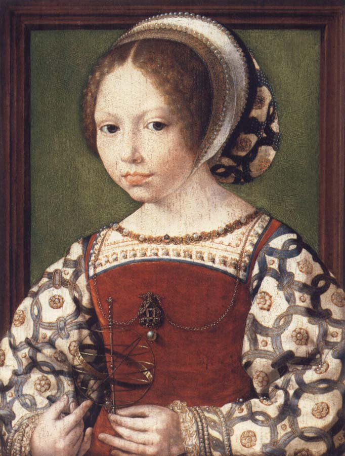 Jan Gossaert Mabuse Portrait of a Little Girl