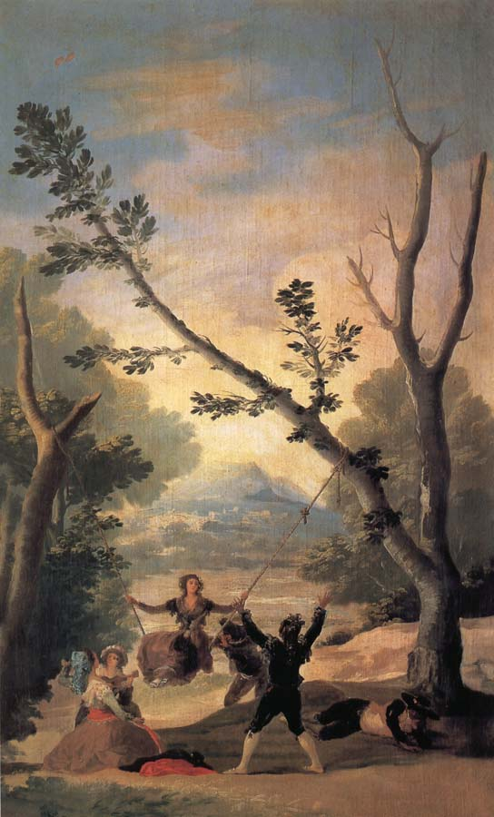 Francisco Goya The Swing