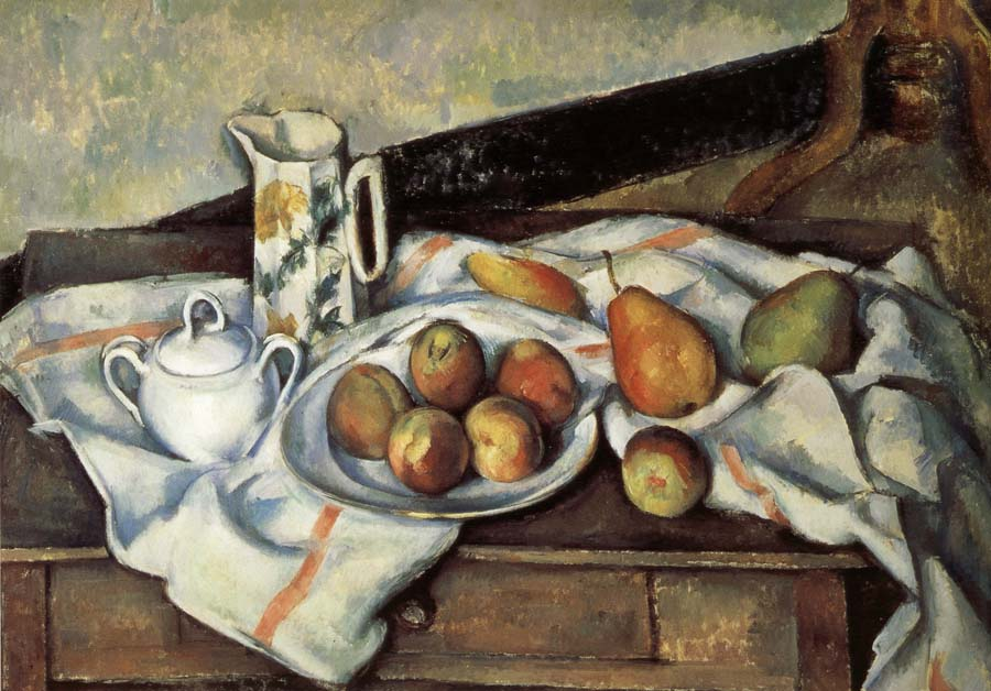 Paul Cezanne Pear and peach