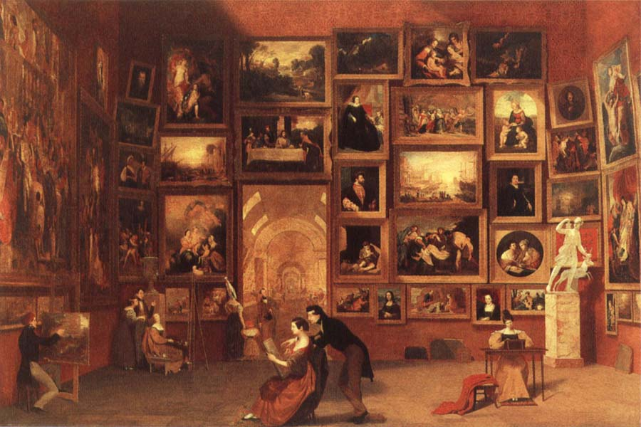 Samuel FB Morse Gallery of the Louvre
