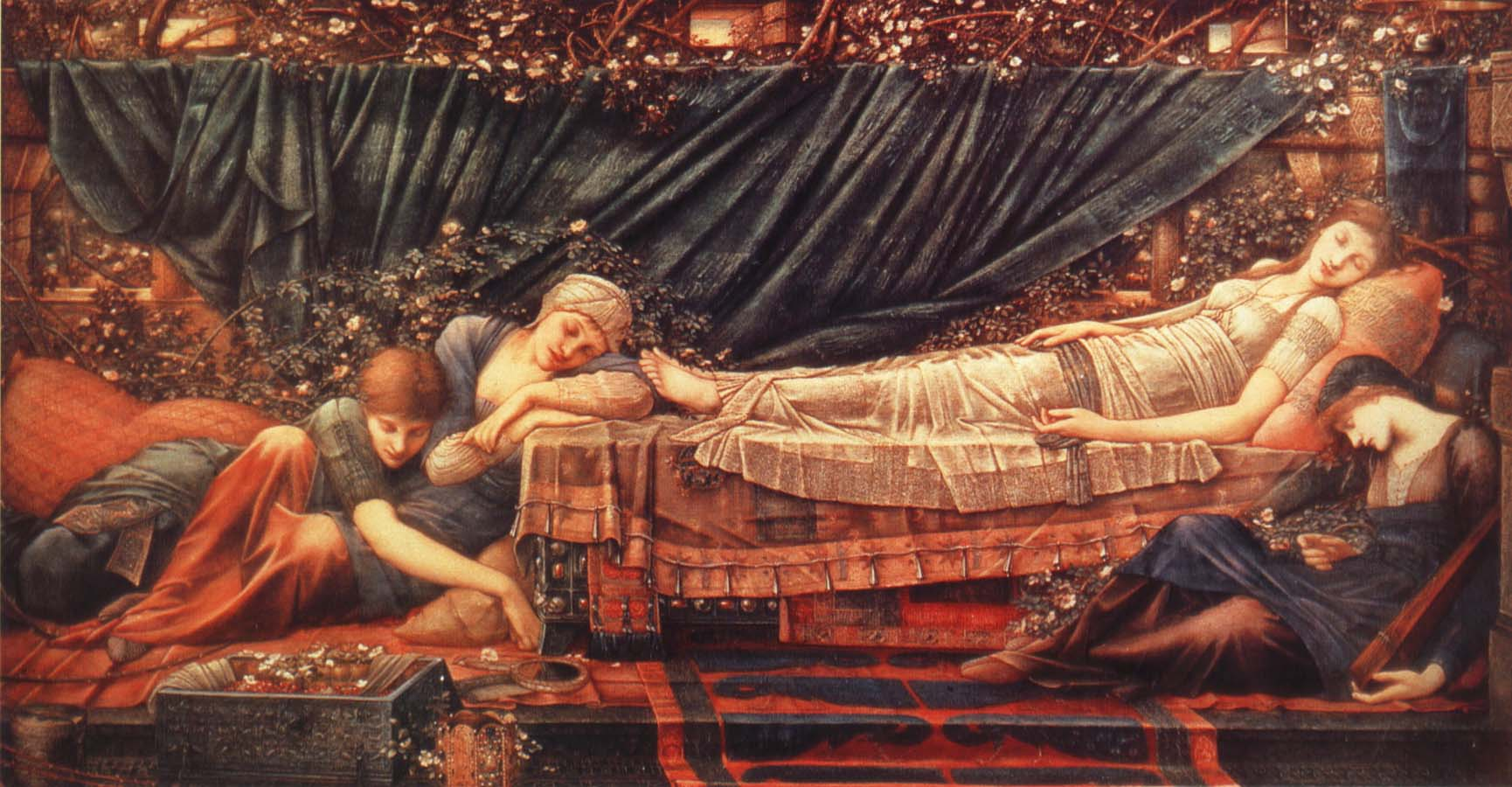 Burne-Jones, Sir Edward Coley Sleeping Beauty