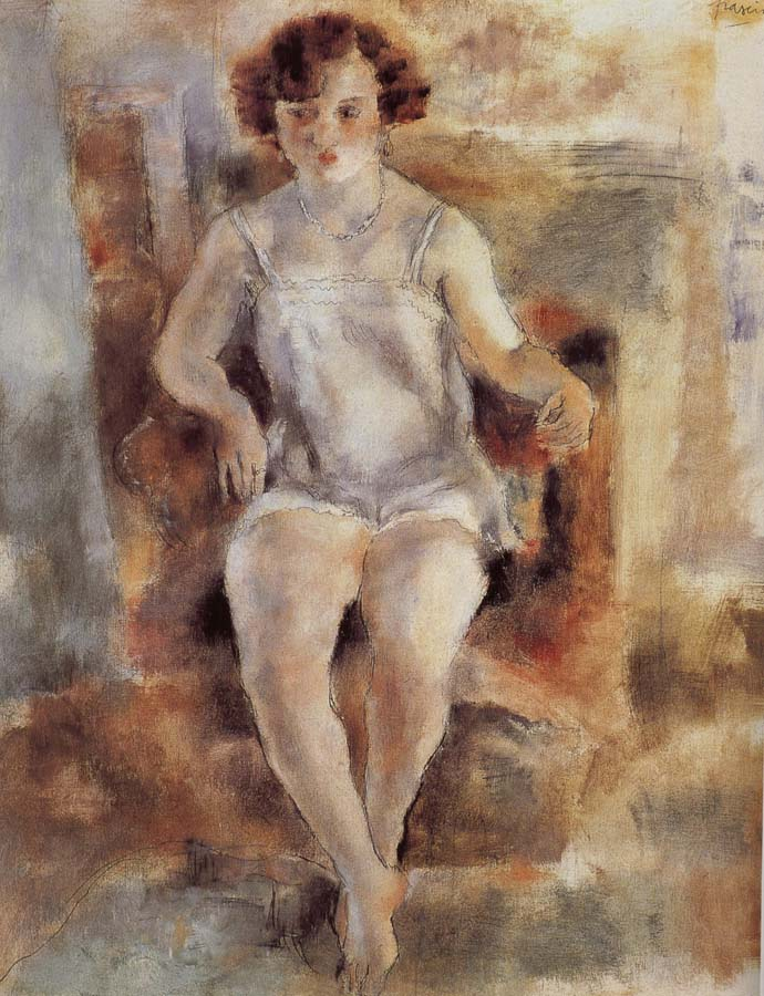 Jules Pascin Portrait of Mary