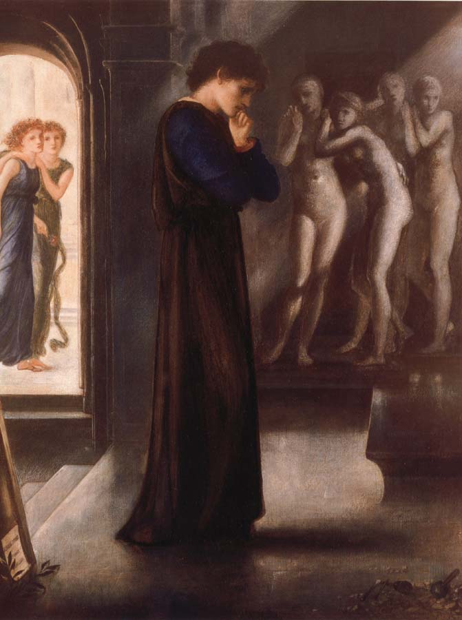 Sir Edward Burne-Jones Pygmalion