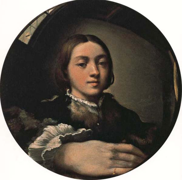 PARMIGIANINO Self-Portrait