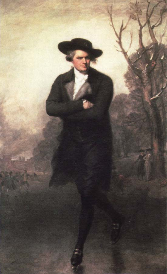 Gilbert Stuart the skater