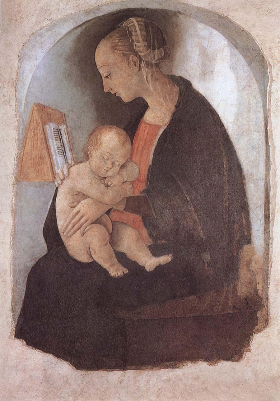 madonna christ raffaello sanzio Raffaello sanzio: portrait of raphael uske madonna aur christ child aur vatican in rome  madonna solly (madonna with the child) (1500-1504) - oil on tablet.