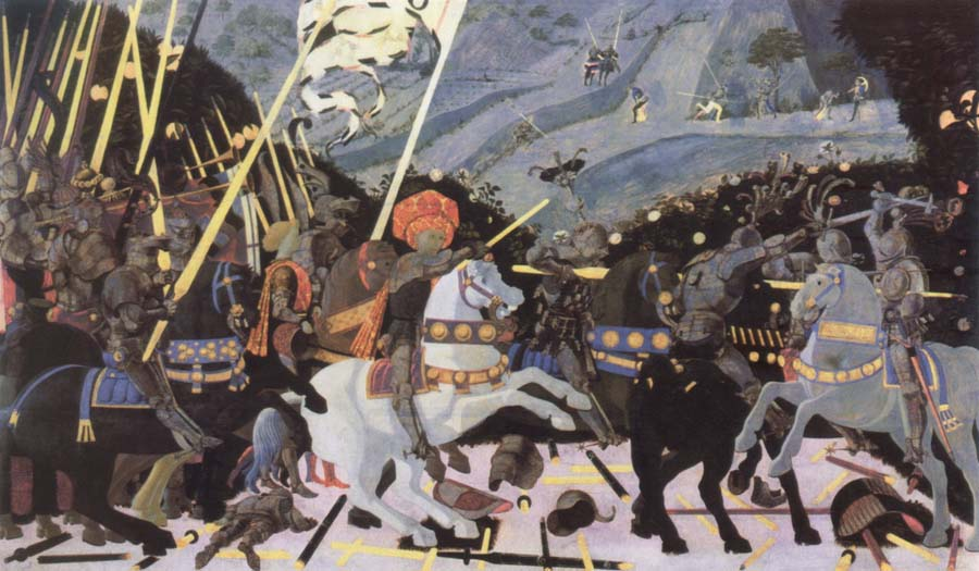 paolo uccello the battle of san romano