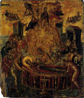El Greco The Dormition of the Virgin
