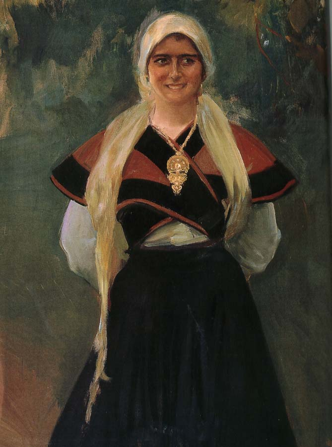 Joaquin Sorolla Typical Galician