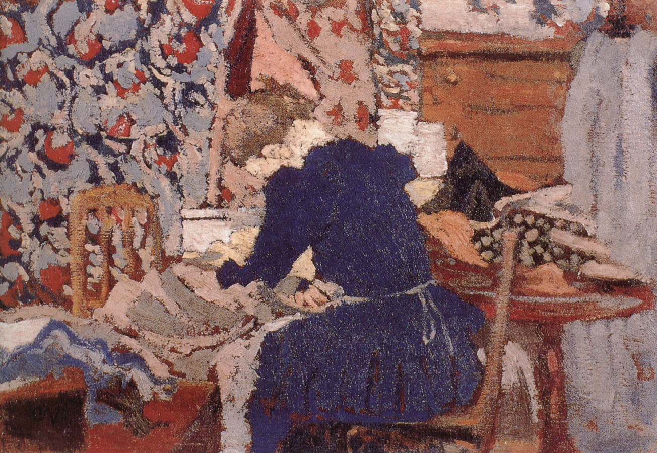 Edouard Vuillard Sewing room
