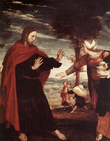 Hans holbein the younger Noli me tangere