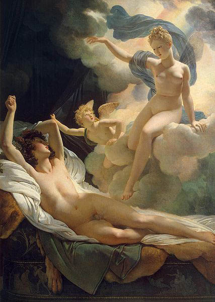Pierre-Narcisse Guerin Morpheus and Iris