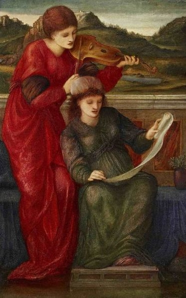 Burne-Jones, Sir Edward Coley Music