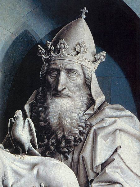 Robert Campin The Holy Trinity