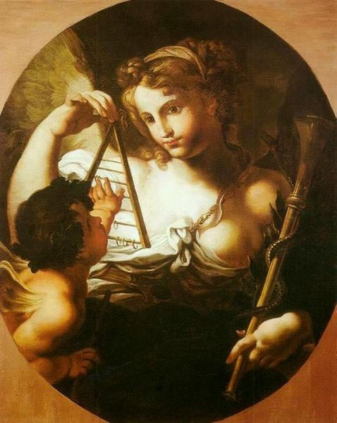 Sebastiano Conca Allegory of Science