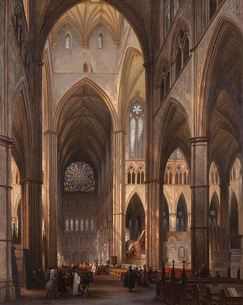 Victor-Jules Genisson Interior of Westminster Abbey