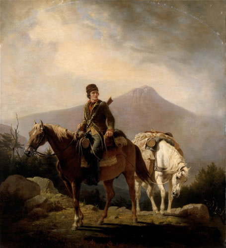 William Ranney Encamped in the Wilds of Kentucky