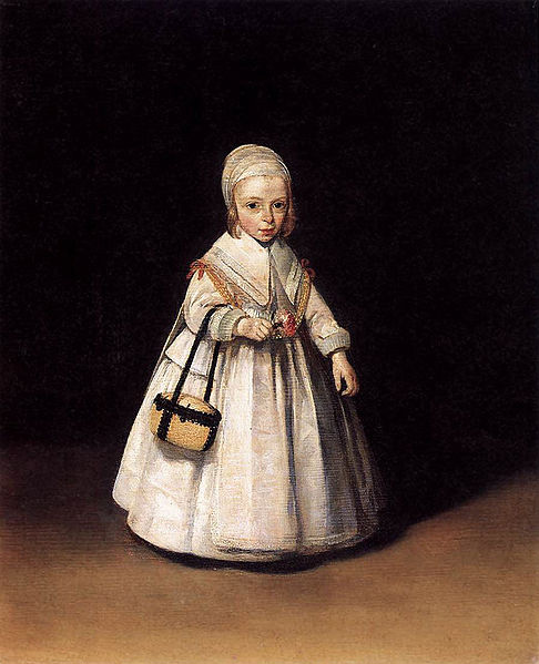 Gerard ter Borch the Younger Portrait of Helena van der Schalcke (1646-1671).