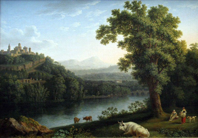 Jacob Philipp Hackert River Landscape