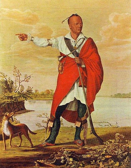 William Berczy Oil portrait of Joseph Brant
