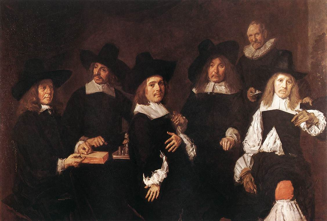 HALS, Frans Regents of the Old Men's Almshouse