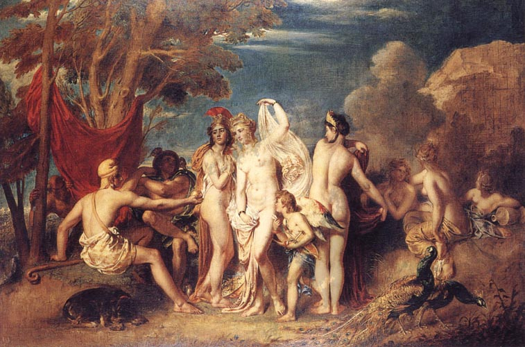William Etty Thwe Judgement of Paris
