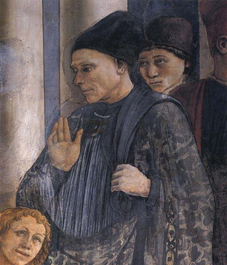 Fra Filippo Lippi Details of The Celebration of the Relics of St Stephen and Part of the Martyrdom of St Stefano