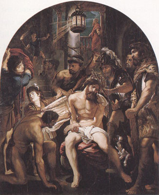 Peter Paul Rubens The Moching of Christ (mk01)