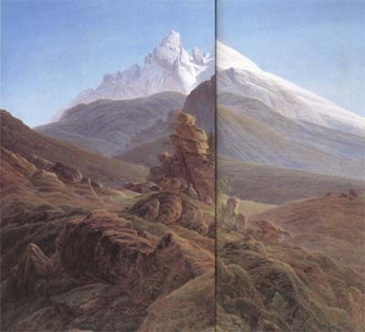 Caspar David Friedrich The Watzmann (mk10)